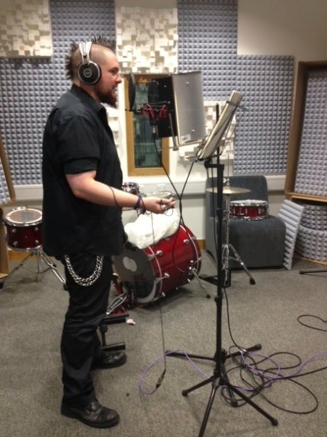 Keith in studio