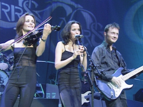Sharon, Andrea and Jim Corr