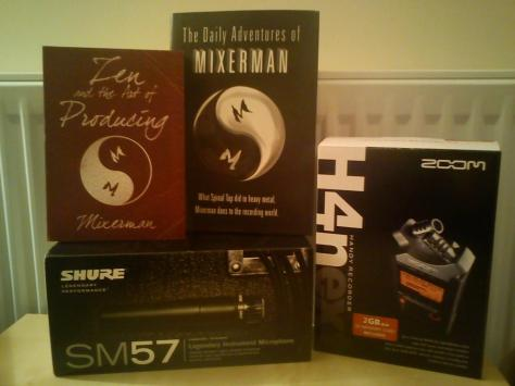Santa spoiled me with audio treats!!!