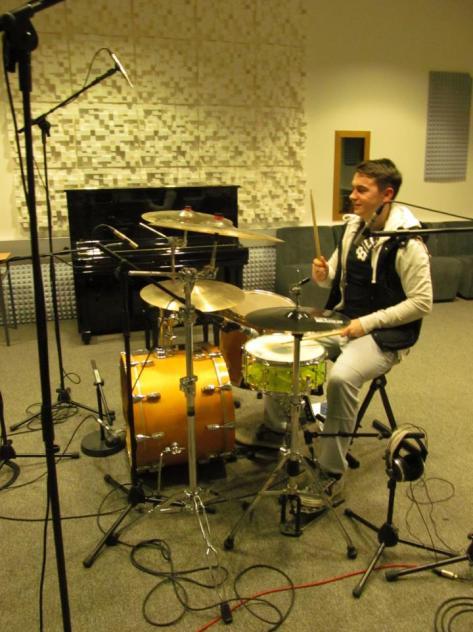 Craig Sullivan on drums