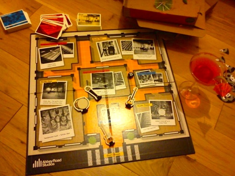 Cocktails, vodka,pizza and music trivia board games is how we celebrate exam results!
