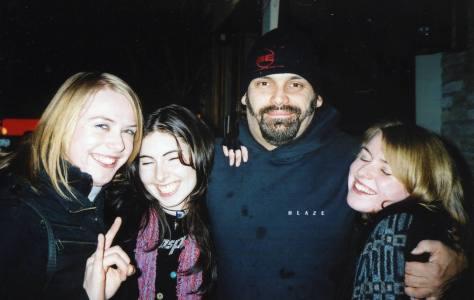 Meeting Blaze in the Village, Dublin 2004