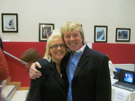 Myself and Gerry Simpson after the show :)