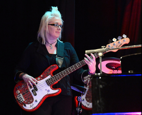 Yours truly on bass. Photo by Colin Bell.
