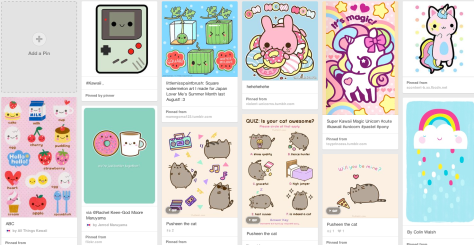 Kawaii art on Pinterest