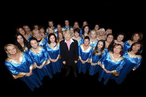 Gerry Simpson and the Augustinian Gospel Choir