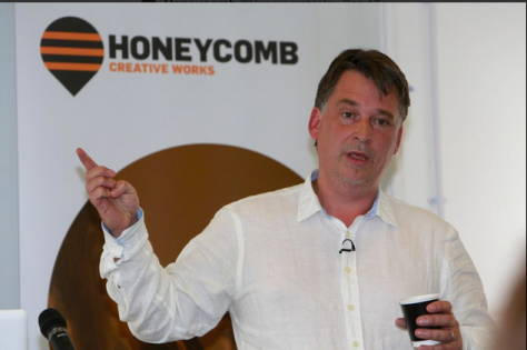 Great talk from Richard Williams to Honeycomb Creative Buzz Award winners. Really good advice on how to get started! pic.twitter.com/t8LCnKXgBi