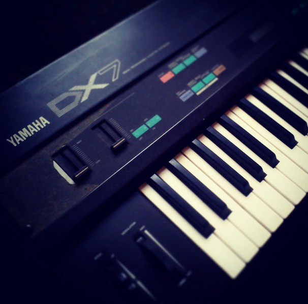 My Yamaha DX-7!!!!!