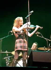 Sharon Corr live at the O'Reilly Theatre, own photo used.